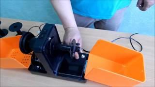 Прялка электрическая. Электропрялка БЭП 02 (Видео обзор). Прядение шерсти, пряжи