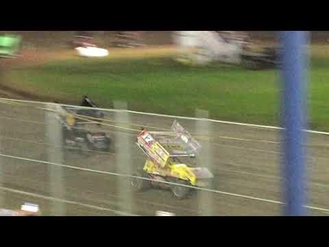BK Chasing Justin Sanders at Ocean Speedway 8/23/2019
