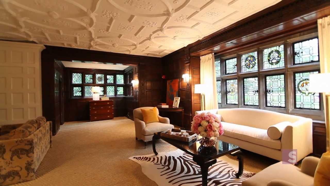 Huge Castle Living Room Tour