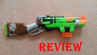 [REVIEW] รีวิวปืนเนิร์ฟ Nerf Zombie SlingFire ลูกซองควงในตำนาน