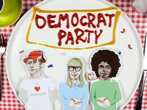 US Elections 2012: Democratic party history | Guardian Animations