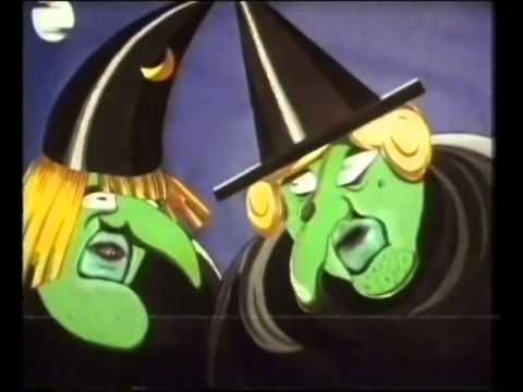 Words and Pictures The Witches of Halloween 1