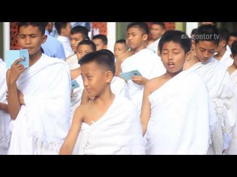 Liputan Manasik Haji Para Santri Baru