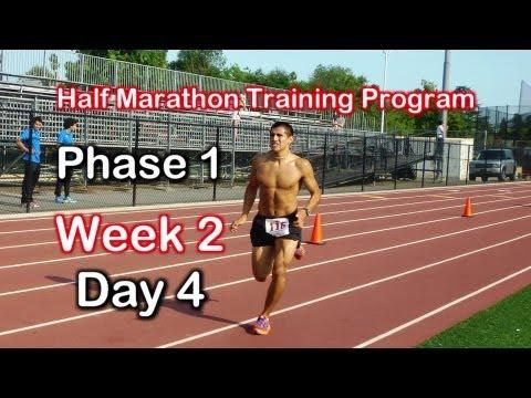 13 Week Half Marathon Training Program: Week 2 Day 4