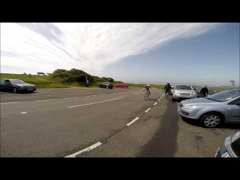 John Cordner finishes Bayeux Beachy Head Race