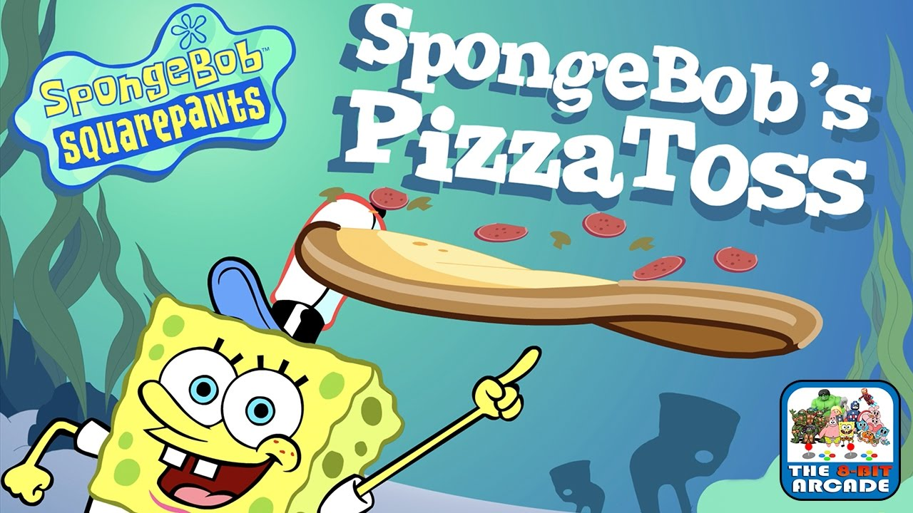 spongebob s pizza toss