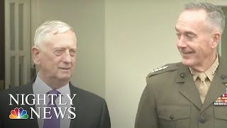 Defense Sec  Mattis  'We Have Many Military Options' in North Korea | NBC Nightly News
