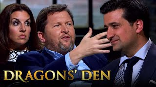 Confusion Throughout The Den As Faheem Pitches His Fusion Franchise?   Dragon's Den