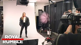 Ronda Rousey poses for her first official WWE photo shoot: Exclusive, Jan. 28, 2018