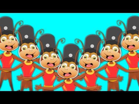 the ants go marching | nursery rhymes | kids songs | childrens rhymes | kids tv nursery rhymes