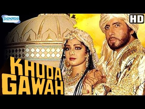 Khuda Gawah (HD) Hindi Full Movie in 15mins  - Amitabh Bachchan - Sridevi - Danny Denzongpa