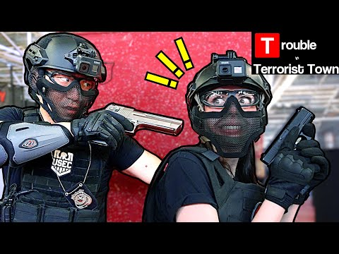 AIRSOFT TTT - Catching Traitors RED-HANDED!