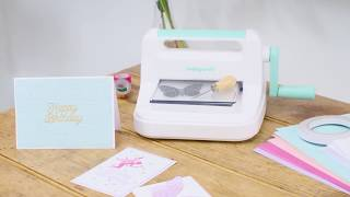 Introduction to the Hobbycraft Die Cutting Machine