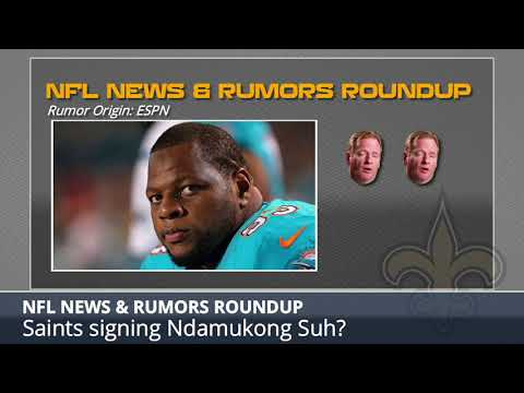 NFL Rumors: Saints Signing Ndamukon Suh, Colin Kaepernick's NFL Return, Michael Crabtree to Ravens
