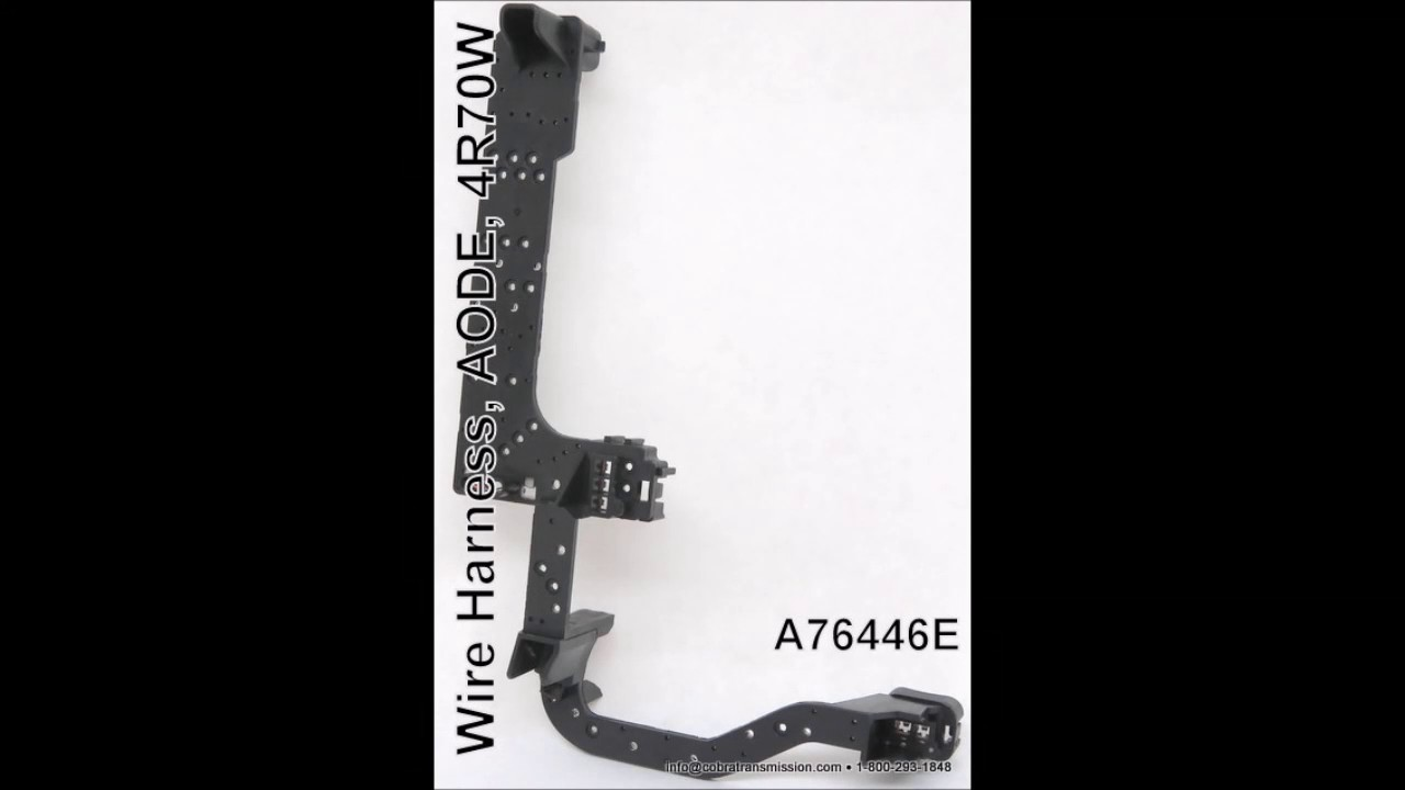 wire harness aode 4r70w youtube