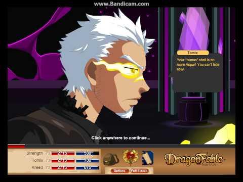 Dragonfable: Tomix's Saga Finale: Part 1 End Cutscene