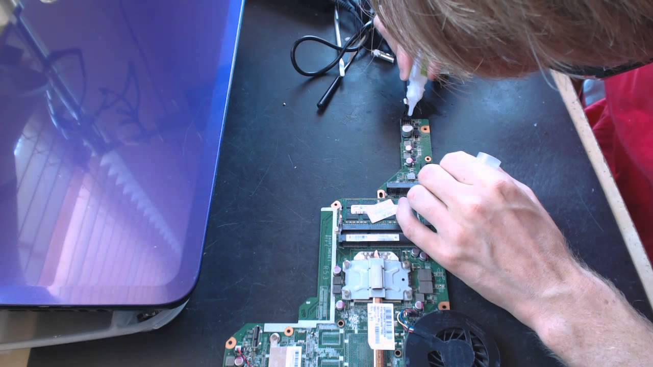 HP g6 series g62279wm 2000 power issue repair no power up