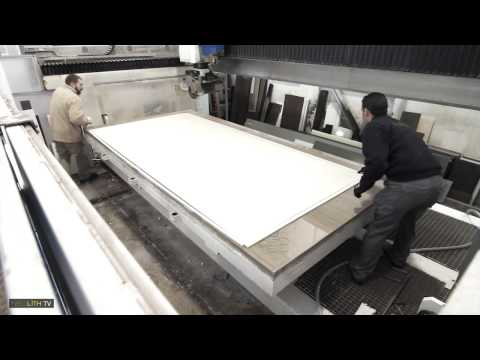 THESIZE  NEOLITH   Cutting 12 mm Slabs