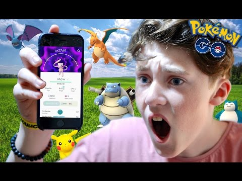 HOW DID I CATCH THAT?! - Pokemon Go #1
