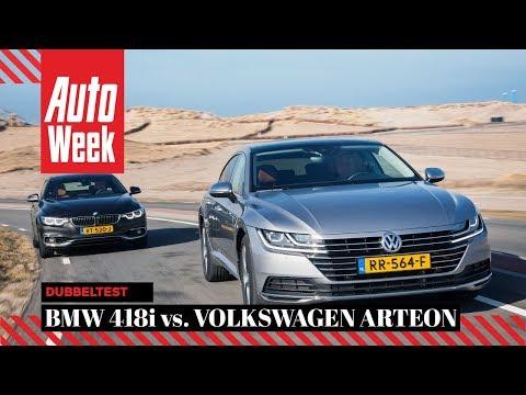 Volkswagen Arteon 1.5 TSI vs. BMW 418i Gran Coupé - AutoWeek Dubbeltest