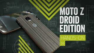 Moto Z Droid Edition Hands-On