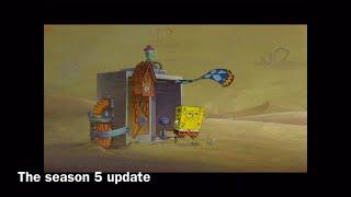 Fortnite portrayed by spongebob (season 5)