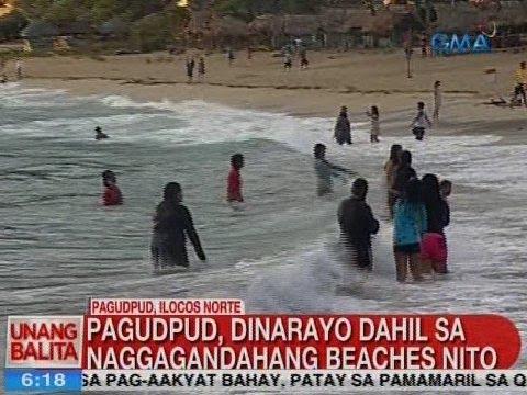 UB: Pagudpud, dinarayo dahil sa naggagandahang beaches nito