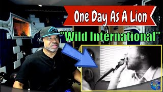 """One Day As A Lion   """"Wild International"""" - Producer Reaction"""