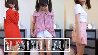 YESSTYLE TRY-ON HAUL 2017 | AtTheCrossroads
