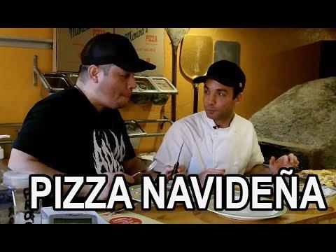 ¿Cómo hacer una pizza navideña?   Pizza Spencer