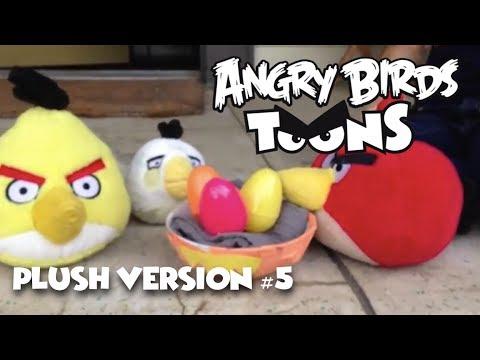"""Angry Birds Toons (Plush Version) - Season 1: Ep 5 - """"Egg Sounds"""""""