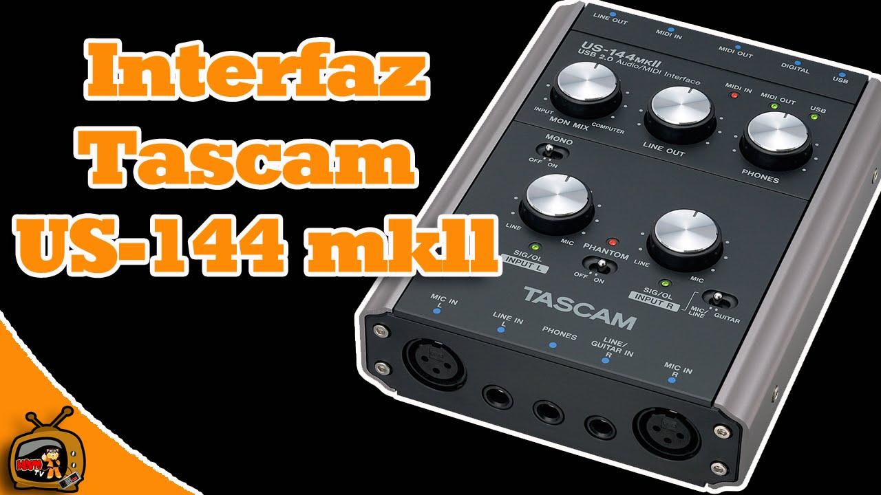 Review en español Interfaz Tascam US-144mkII - YouTube