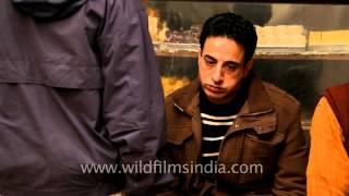 Man Eating Samosa At Nizamuddin Eatery