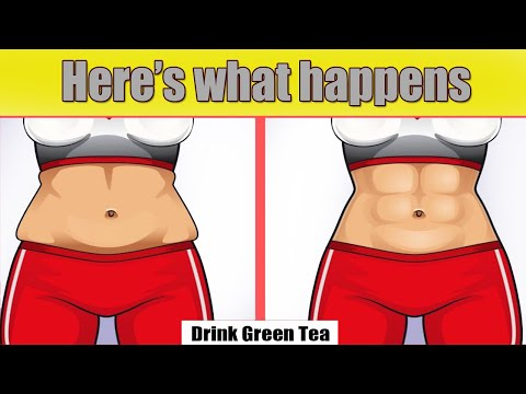 Here's what happens when you Drink Green Tea! How to Drink it!