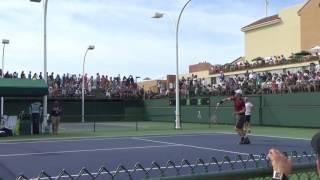 Andy Murray's Smash Practice (Indian Wells 2017)