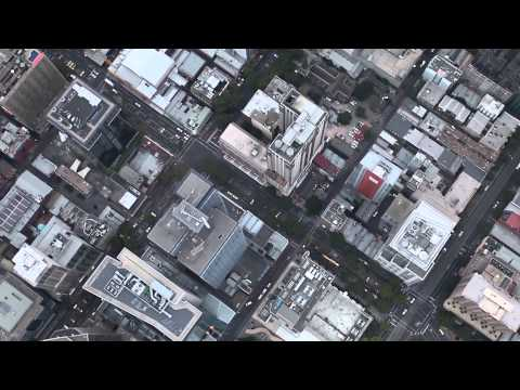 Aerial City Scape Stock Footage
