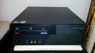 Upgrading and modifying a Lenovo ThinkCentre M58
