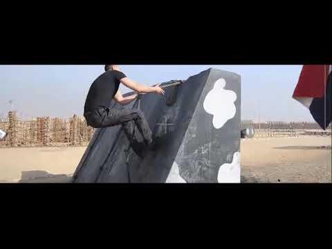 Making of The Cell - مشهد لتدريبات أحمد عز من كواليس فيلم الخلية