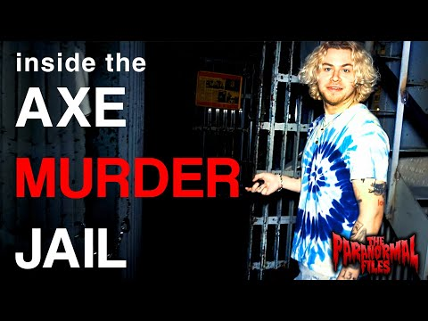 Contacting The Ghosts of the Haunted AXE MURDER JAIL (What A Scary Night!) | THE PARANORMAL FILES