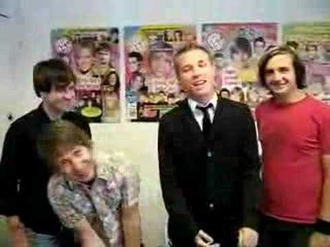HAWK NELSON Visits Popstar!'s Offices