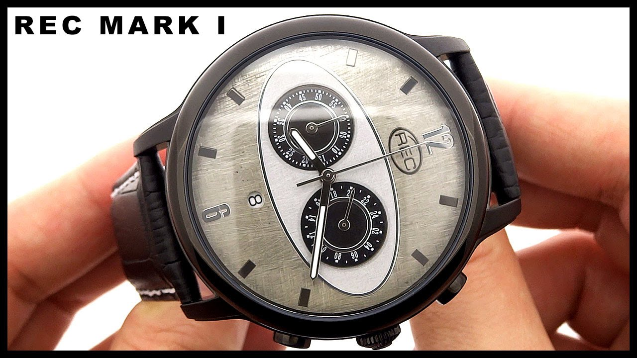 Watch wrist parts - Rec Mark I M3 Recycled Car Parts Watch Hd Video Review