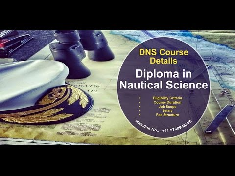 DNS (Diploma in Nautical Science) Course | Merchant Navy | After 12th