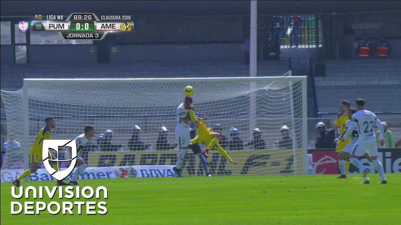 cd691a641be Mateus Uribe America vs Pumas red card