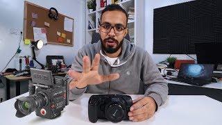 أول كاميرا سحر أسود في مصر Black Magic 4K