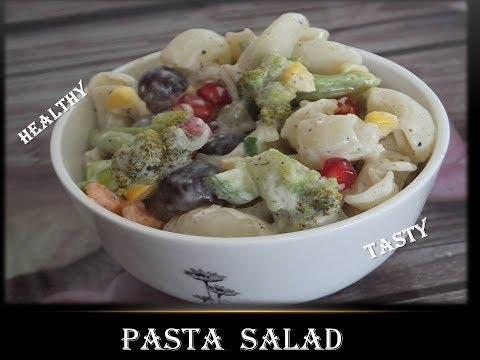 Pasta salad | macaroni salad @ Kitchen Bitchen