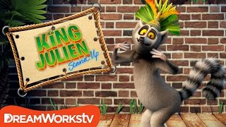 Life Of The Slumber Party | KING JULIEN STAND UP
