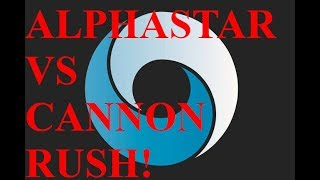 AlphaStar vs Cannon Rush! (NEW!) - Starcraft 2