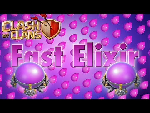 GET FAST ELIXIR | Clash of Clans (2016+)