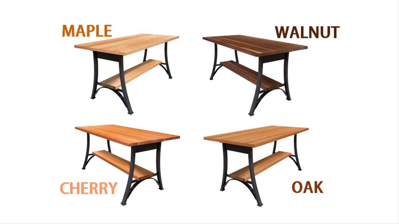 John Boos Foundry Collection Dining Table Sets Short Youtube