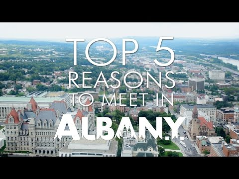 Top 5 Reasons to Meet in Albany, NY